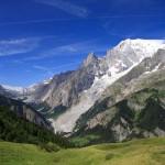 Monte Bianco e l'Aiguille Noire